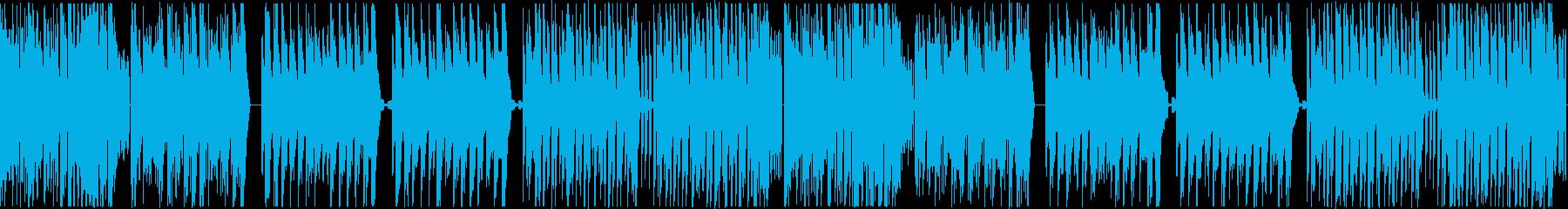 陽気なコミカルミュージックの再生済みの波形