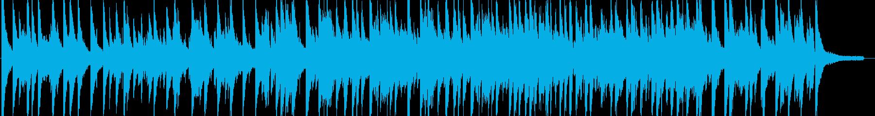 おしゃれ・ジャズ・映像・ナレーション用の再生済みの波形