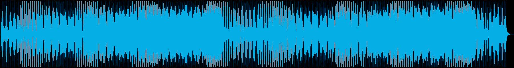 フュージョン ジャズ 不思議 奇妙...の再生済みの波形