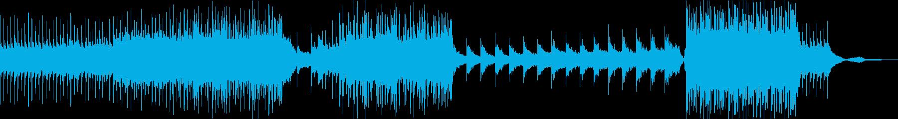 エモーショナルなピアノバラードの再生済みの波形