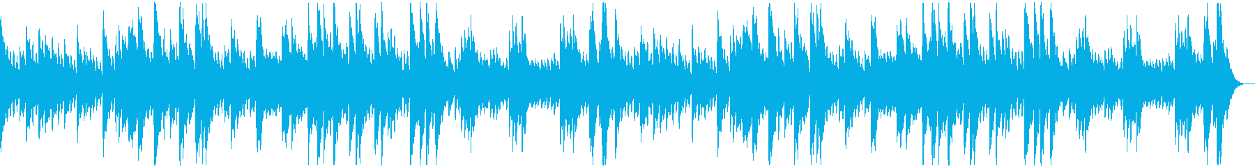 コロコロとした音のソロ・ピアノ曲の再生済みの波形