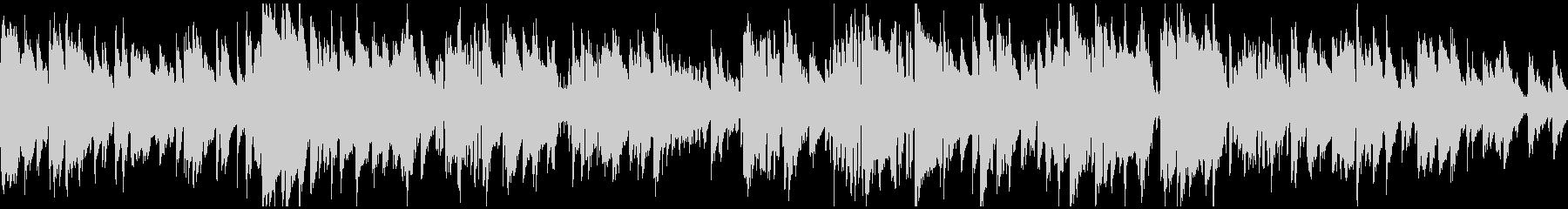 静かな大人の現代ジャズ、クール※ループ版の未再生の波形