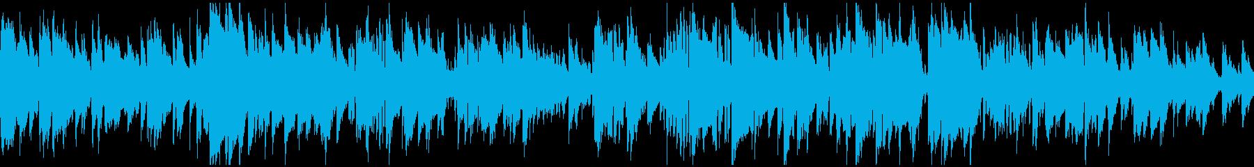 静かな大人の現代ジャズ、クール※ループ版の再生済みの波形