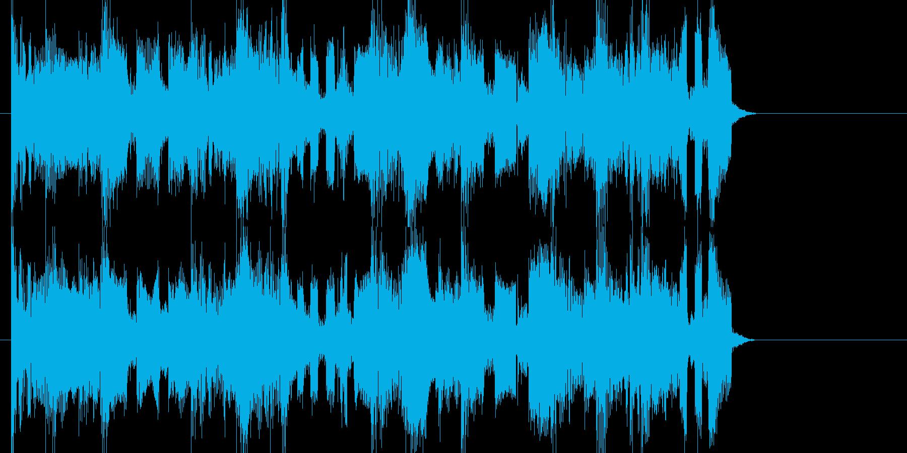 EDMシンセサイザーのジングルです。の再生済みの波形