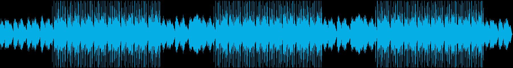 落ち着いた雰囲気のChill Musicの再生済みの波形