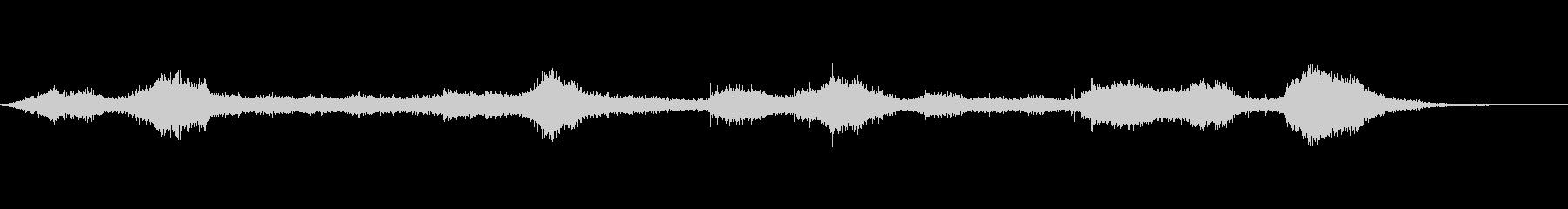 【自然音】穏やかな波 波打ち際_1の未再生の波形