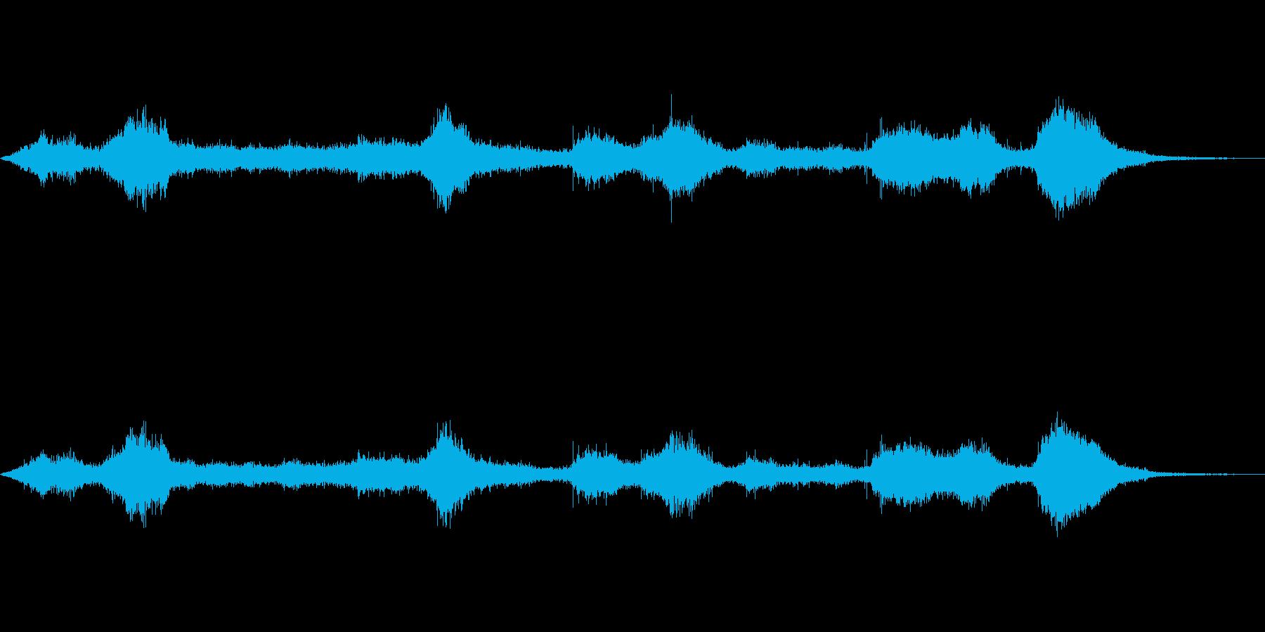 【自然音】穏やかな波 波打ち際_1の再生済みの波形