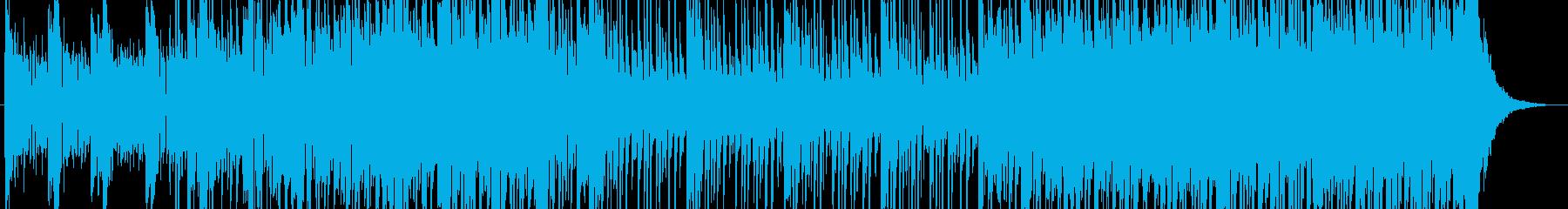 高輝度ロックとエレクトロニカブレン...の再生済みの波形