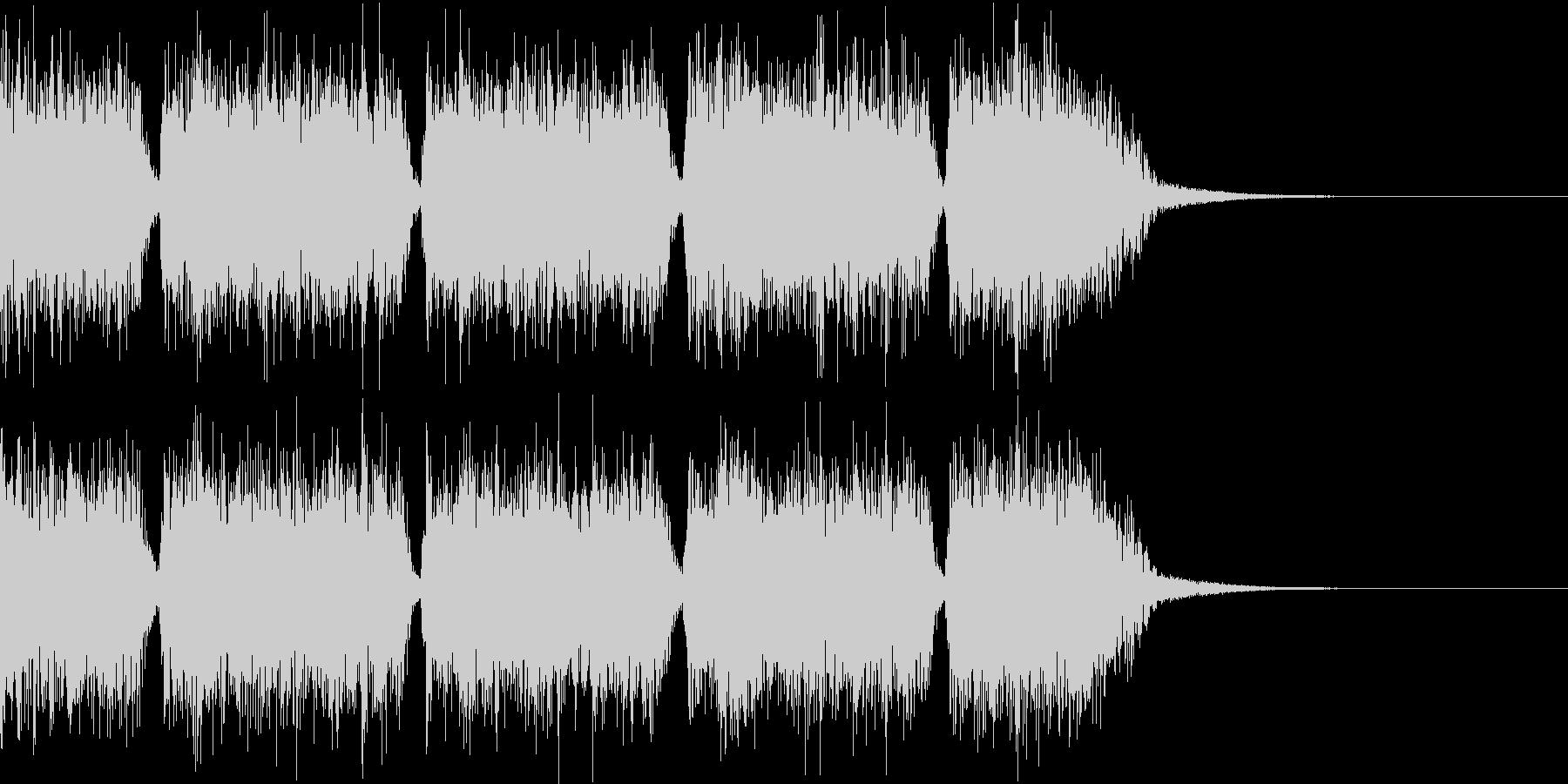 エネルギッシュ・ロックなサウンドロゴ02の未再生の波形