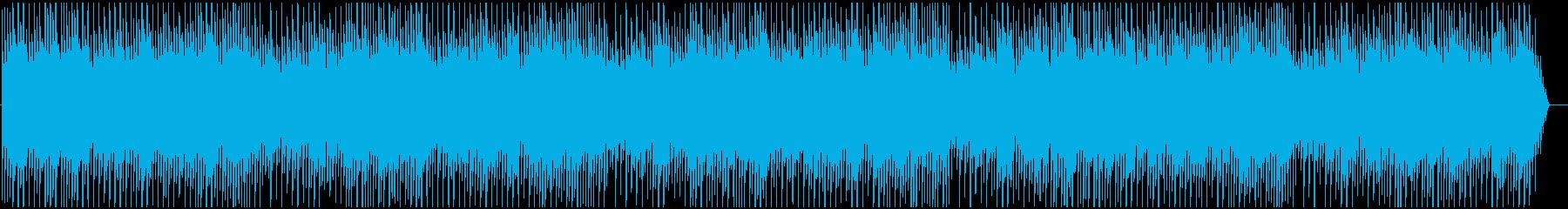 切ない哀愁のあるピアノ曲の再生済みの波形