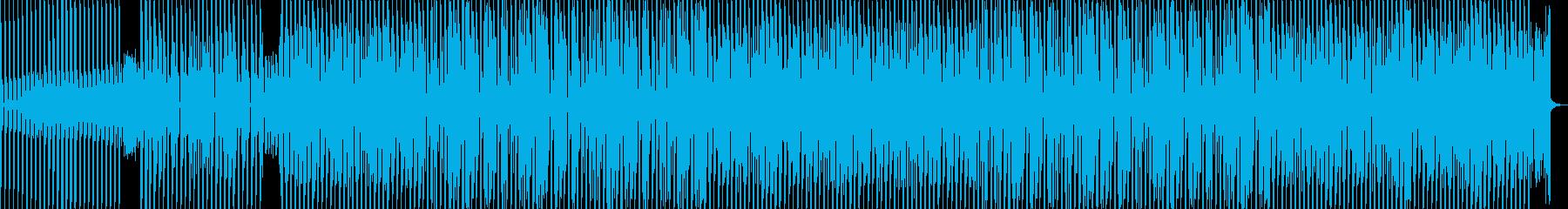 シンプルなナイトシティハウスの再生済みの波形