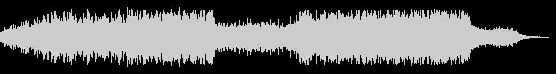 bpm140シンプルで地味なテクノの未再生の波形