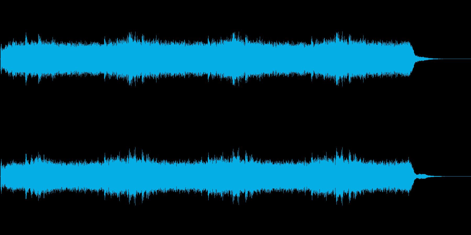 Dark_ホラーで怪しく神秘的-09の再生済みの波形