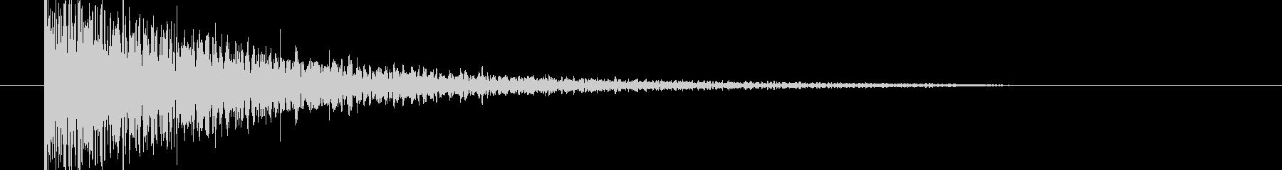映画告知音129 ドーンの未再生の波形