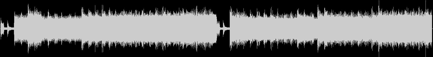 8bit コミカル、ポップなループBGMの未再生の波形
