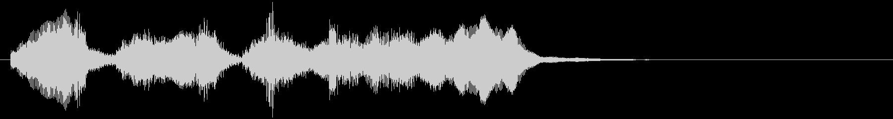 のほほんジングル010_ほのぼの-3の未再生の波形