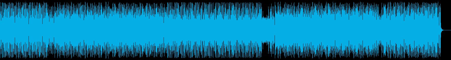 かっこいいドラムンベースの再生済みの波形