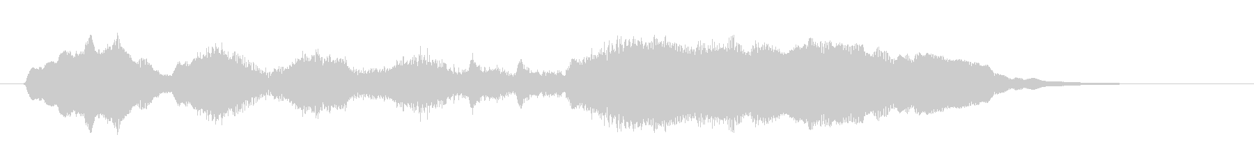 Movie_Opening company logo Refreshing and calm's unreproduced waveform