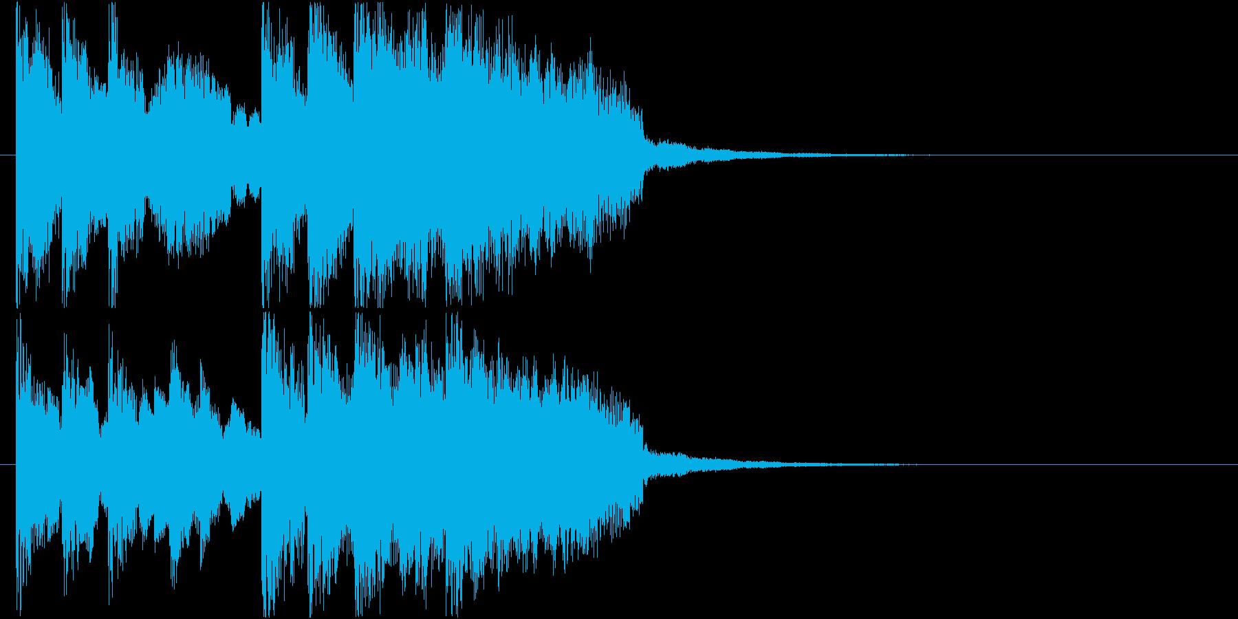 ジングル@EDM#4スタイリッシュの再生済みの波形