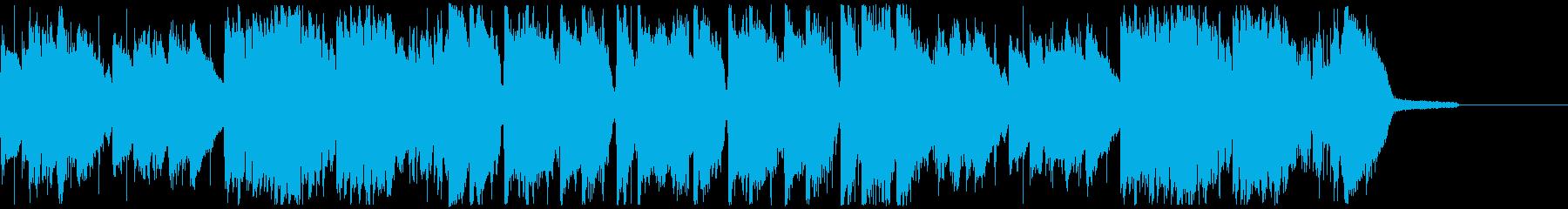 オープニング・おしゃれなポップスの再生済みの波形