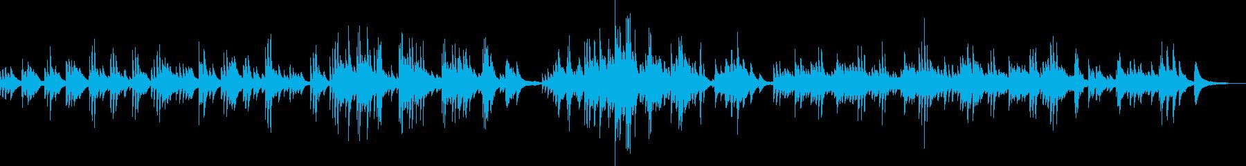 寄り添うような感動のピアノバラードの再生済みの波形