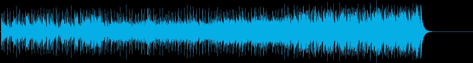 わくわくする軽快なポップ(イントロ~…)の再生済みの波形
