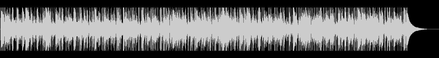 ほのぼのマンドリンのフォークBGMの未再生の波形