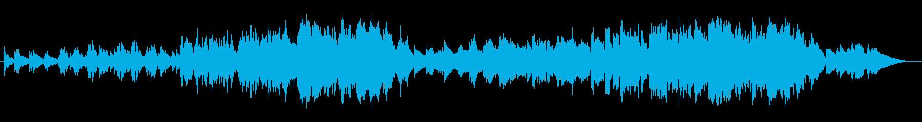 催眠的な女性ボーカルを使用した感情...の再生済みの波形