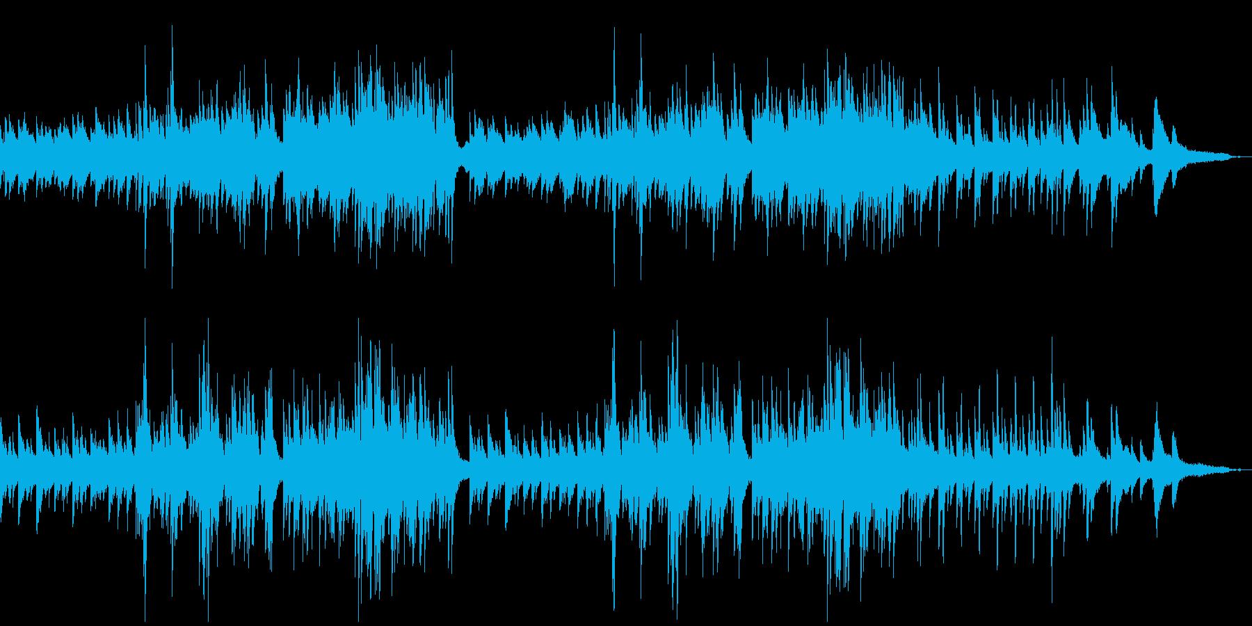 ナレーションによく合うピアノソロの再生済みの波形