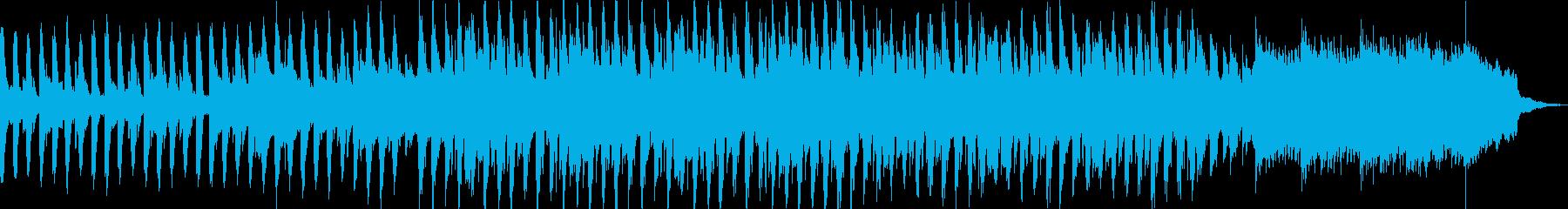 楽しくて明るいポップミュージックの再生済みの波形