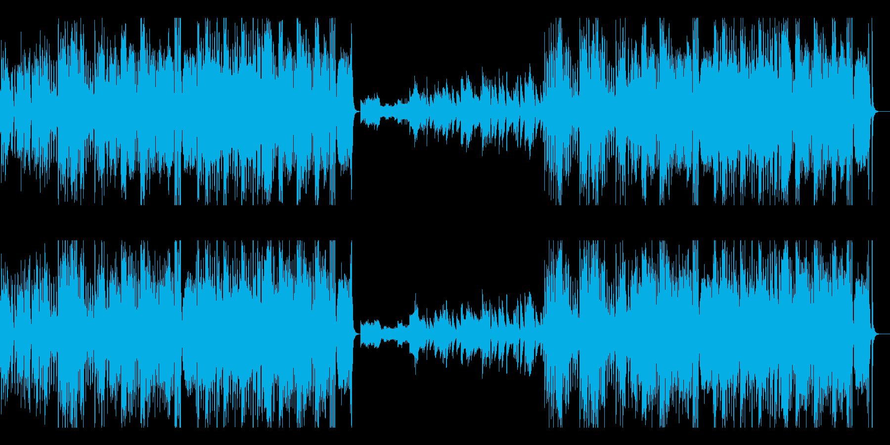 速弾きピアノ 高速 優雅 ジャズ の再生済みの波形