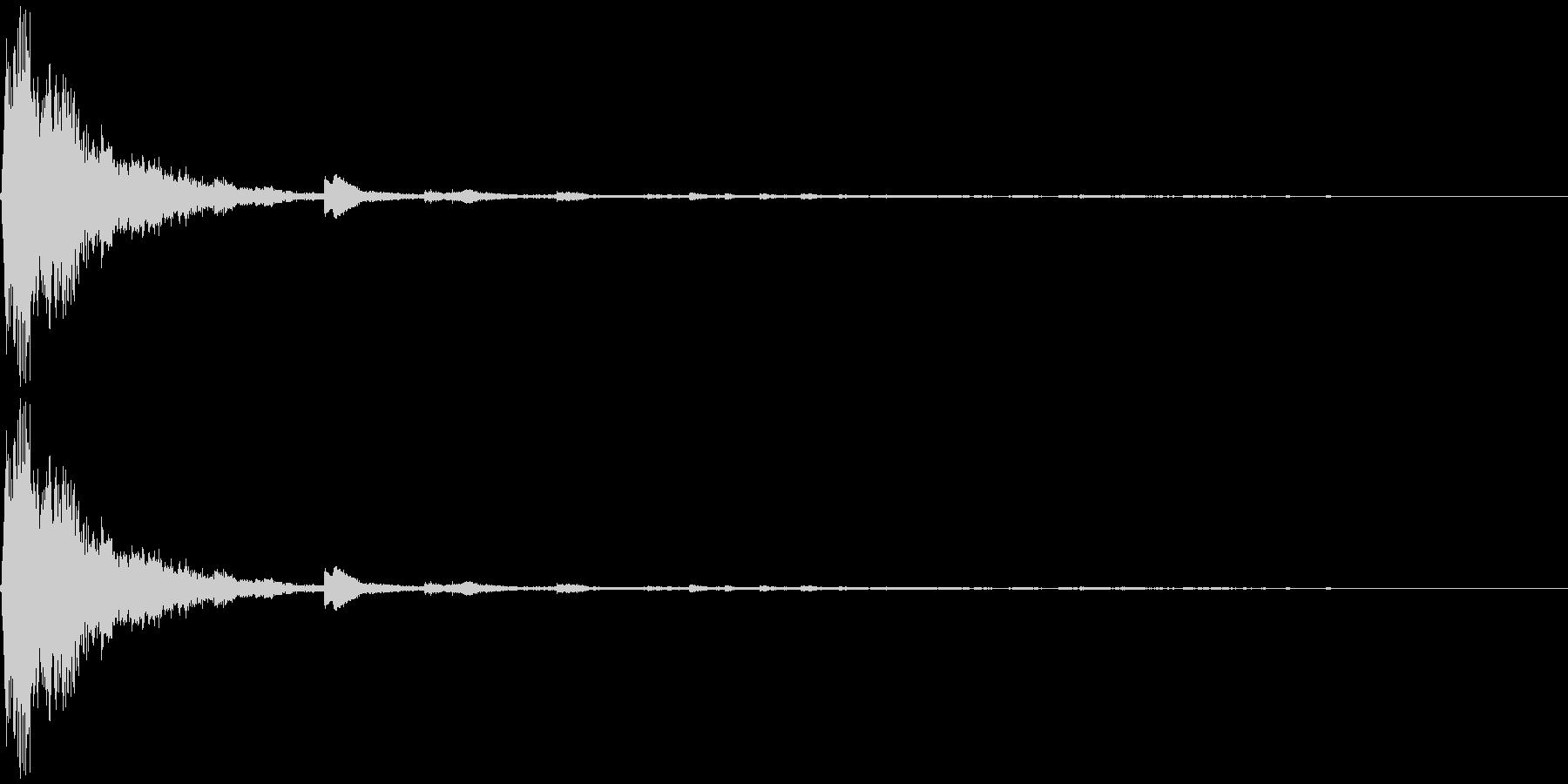 シャン クリスマスの鈴3の未再生の波形