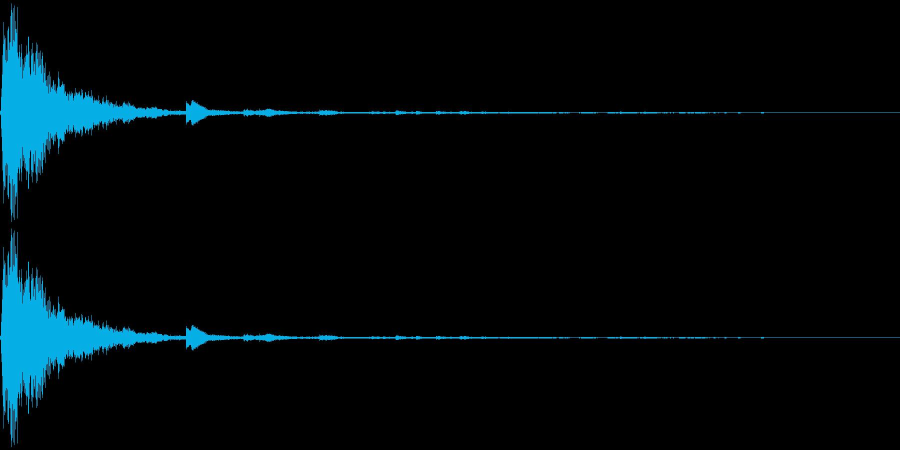 シャン クリスマスの鈴3の再生済みの波形