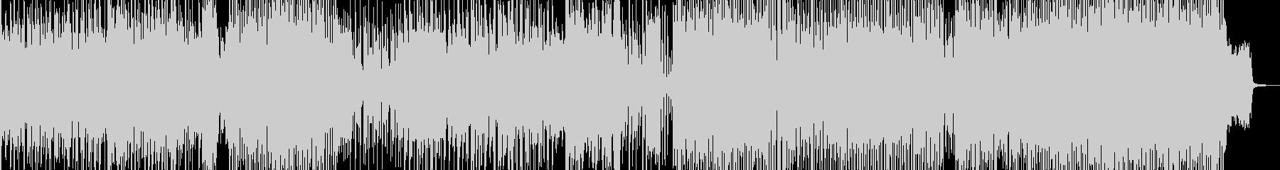 メリハリ・緩急際立つヒップ&ハウス Bの未再生の波形
