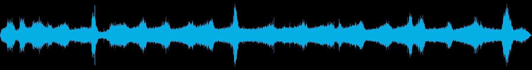 【四国最東端】かもだ岬灯台の波音【秋】の再生済みの波形