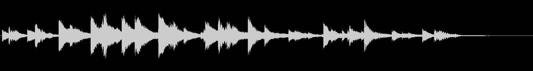 チャイムバーストラムスプリンクルbの未再生の波形