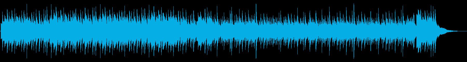 企業VP系ピアノ会社紹介学校紹介の再生済みの波形