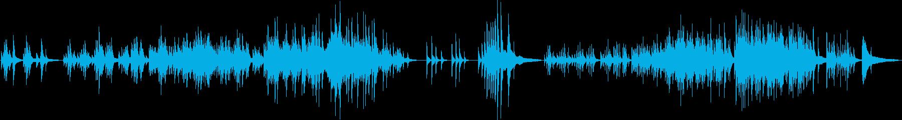 温かく、どこか切ないピアノソロ曲の再生済みの波形