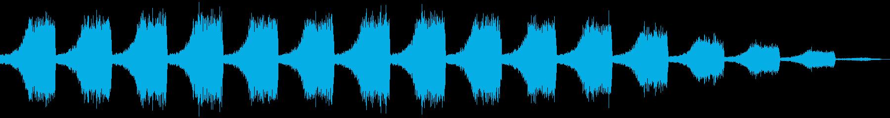 【ノイズ】シュシュシュ・・・・の再生済みの波形