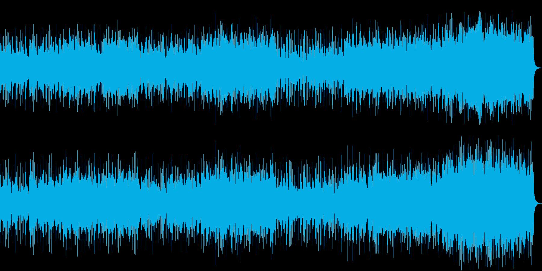 和風BGM・里山や古都の上品なイメージの再生済みの波形
