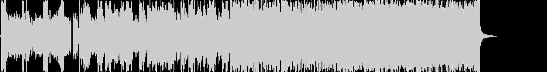 かっこ良いロックインスト-短縮版-の未再生の波形