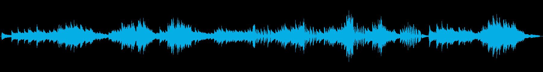 シューマン 飛翔 中間部分よりの再生済みの波形