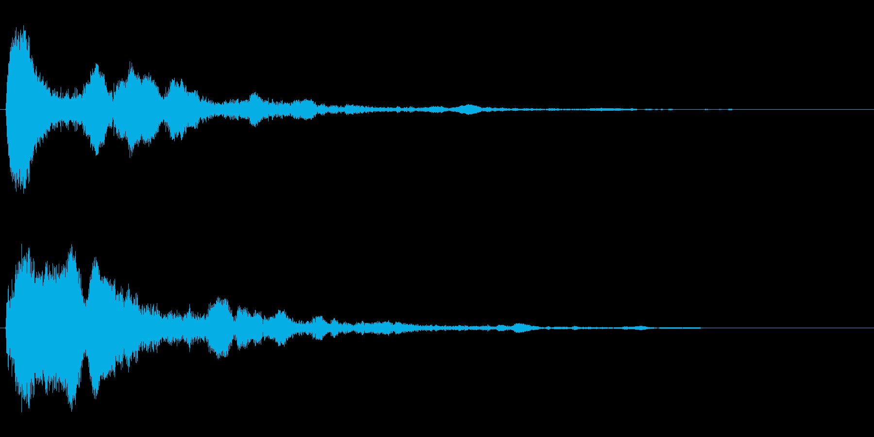 ポーン_決定_空間の再生済みの波形