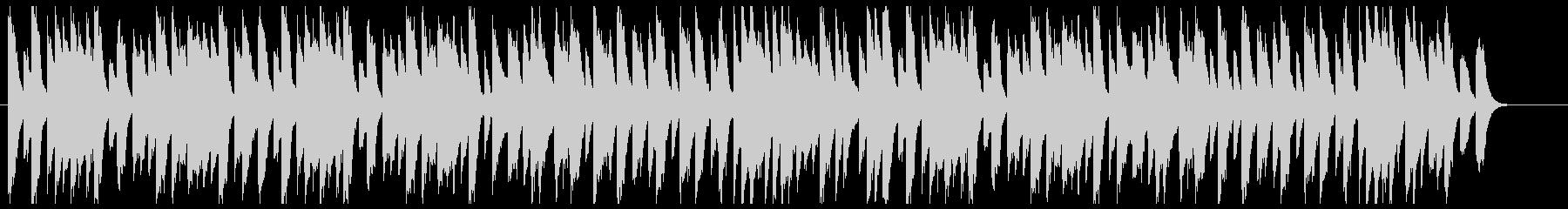 ゆったりしたア古いジャズピアノの未再生の波形