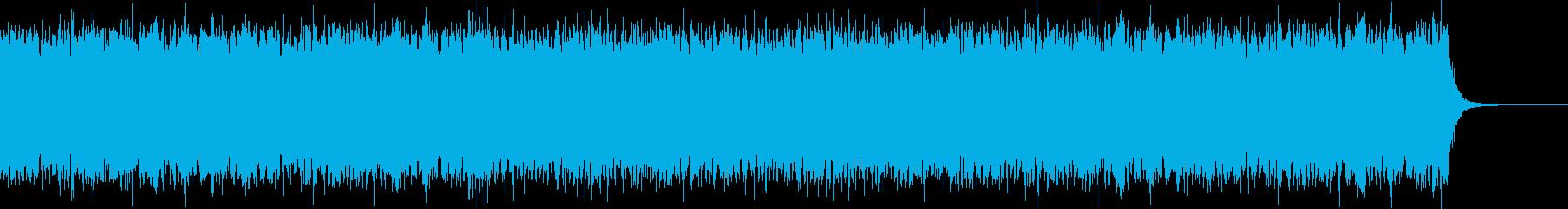 軽いオシャレなバトルBGMの再生済みの波形