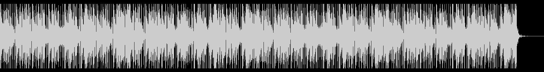 怪しげなTrap風BGMの未再生の波形