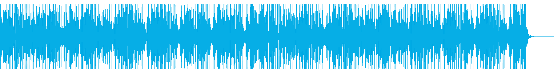 怪しげなTrap風BGMの再生済みの波形