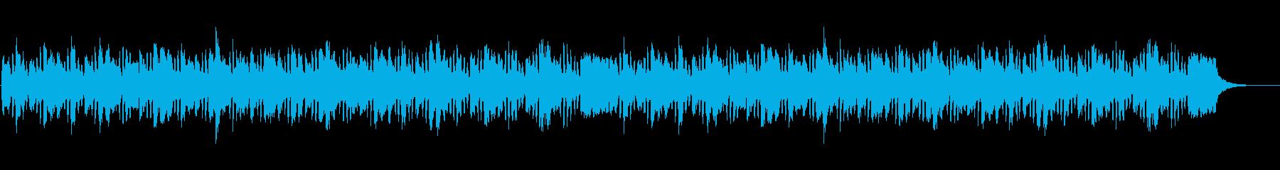 おとぼけの再生済みの波形