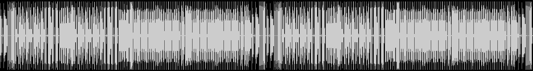 FC風ループ スーパーキノコランドの未再生の波形