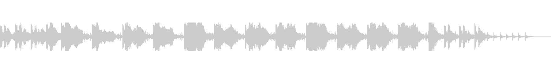 【雰囲気系】カラスと秒針、不気味な曲の未再生の波形